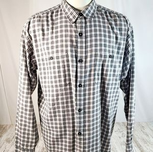 Men's Patagonia Organic Cotton Flannel Plaid shirt